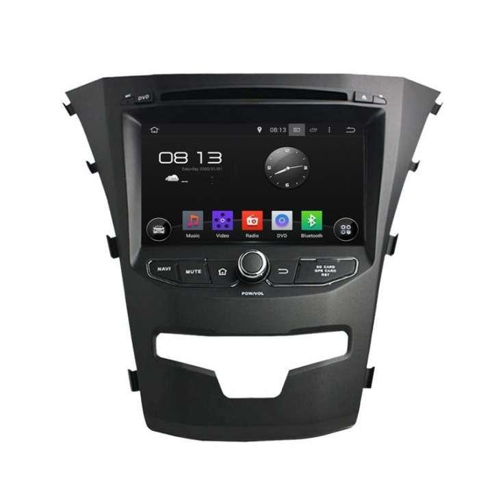 "Radio DVD Navegador GPS Android para SsangYong Korando (7"")"