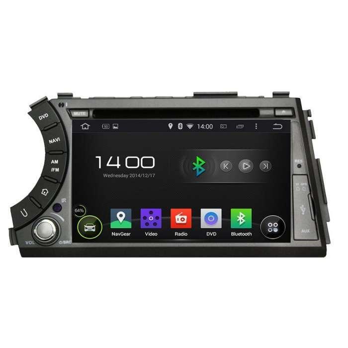 """Radio DVD Navegador GPS Android para SsangYong Actyon / Kyron (7"""")"""