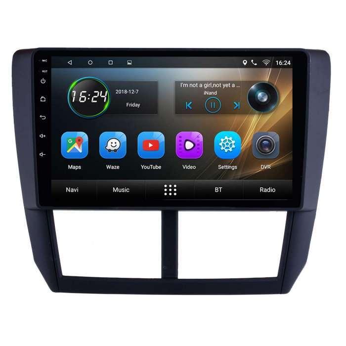 "Radio Navegador GPS Android para Subaru Forester (9"")"