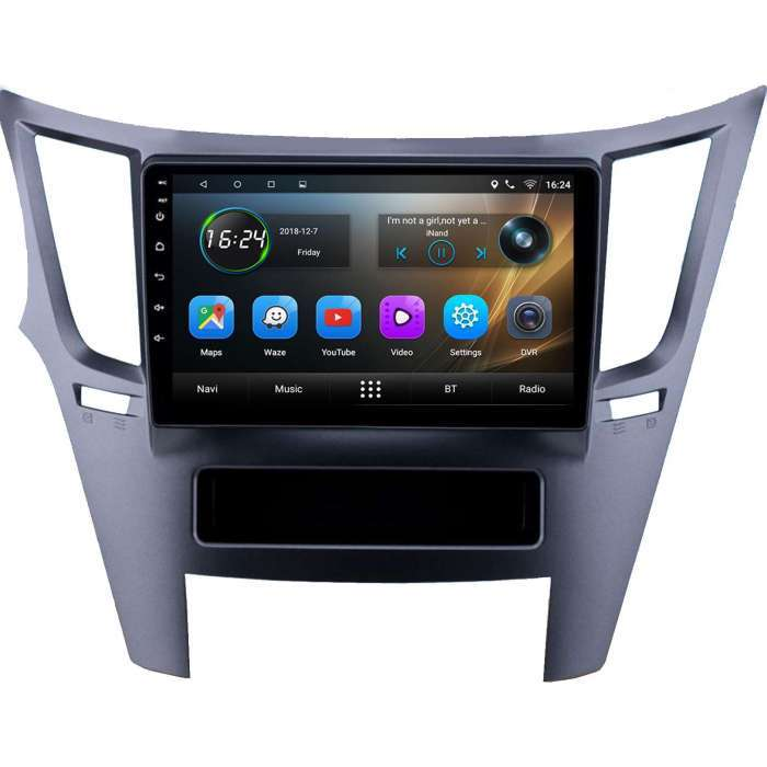 "Radio Navegador GPS Android para Subaru Outback (9"")"