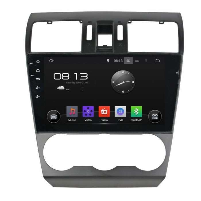 "Radio Navegador GPS Android para Subaru Forester (10,2"")"