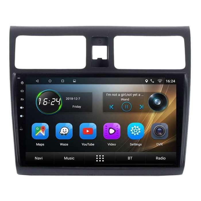 "Radio Navegador GPS Android para Suzuki Swift (10,2"")"