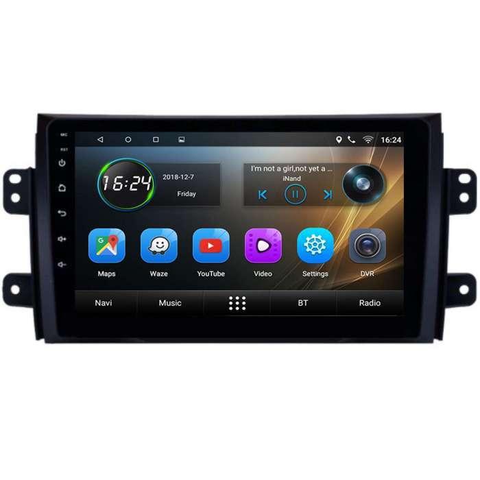 "Radio Navegador GPS Android para Suzuki SX4 (9"")"