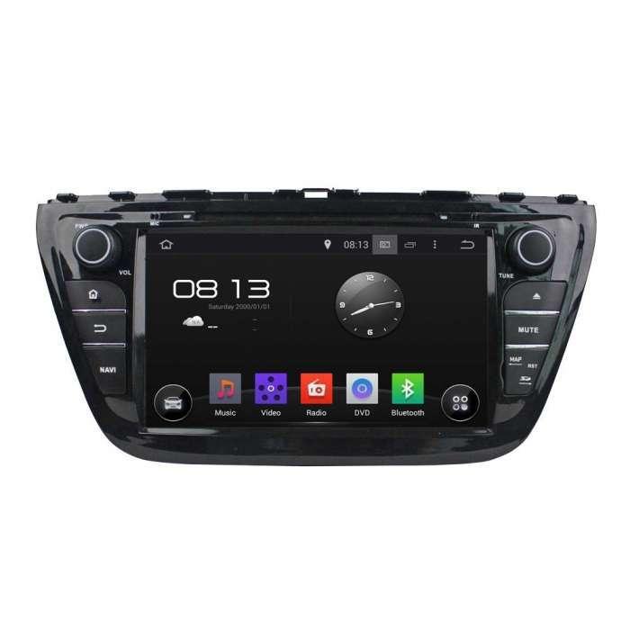 "Radio DVD Navegador GPS Android para Suzuki SX4 / S-Cross (8"")"