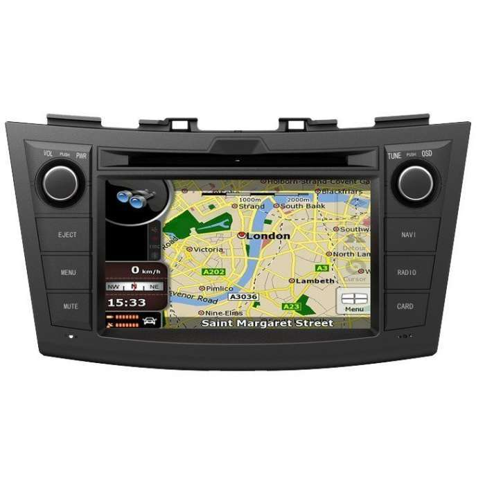 "Radio DVD Navegador GPS Android para Suzuki Swift (7"")"