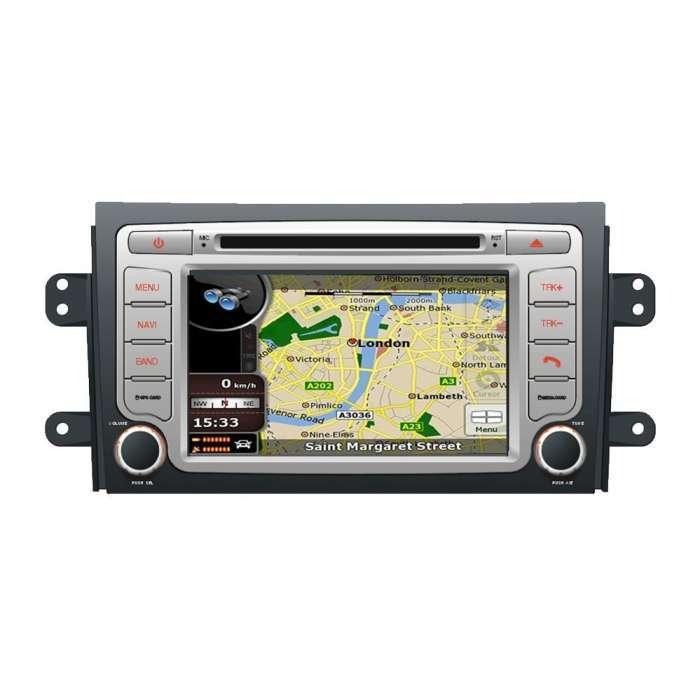 "Radio DVD Navegador GPS Android para Suzuki SX4 / S-Cross (7"")"