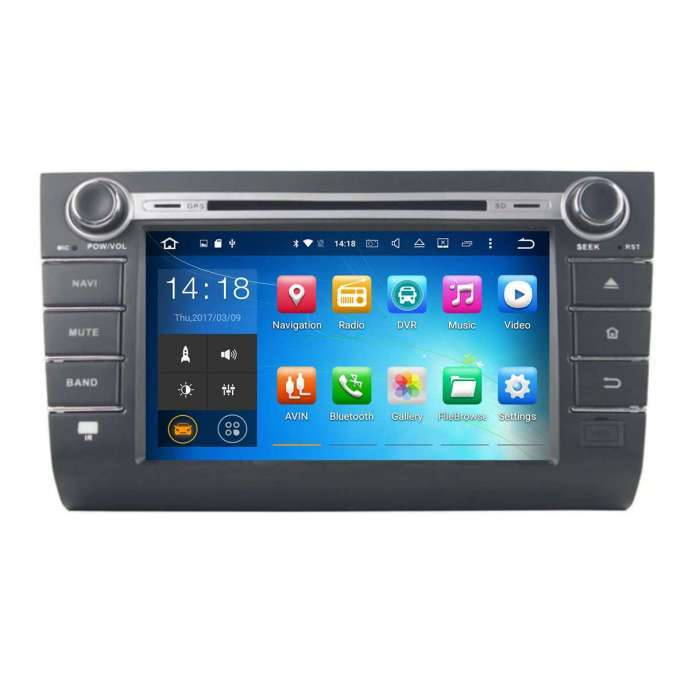 "Radio DVD Navegador GPS Android para Suzuki Swift (8"")"