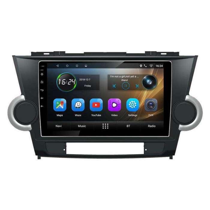 "Radio Navegador GPS Android para Toyota Highlander (10"")"