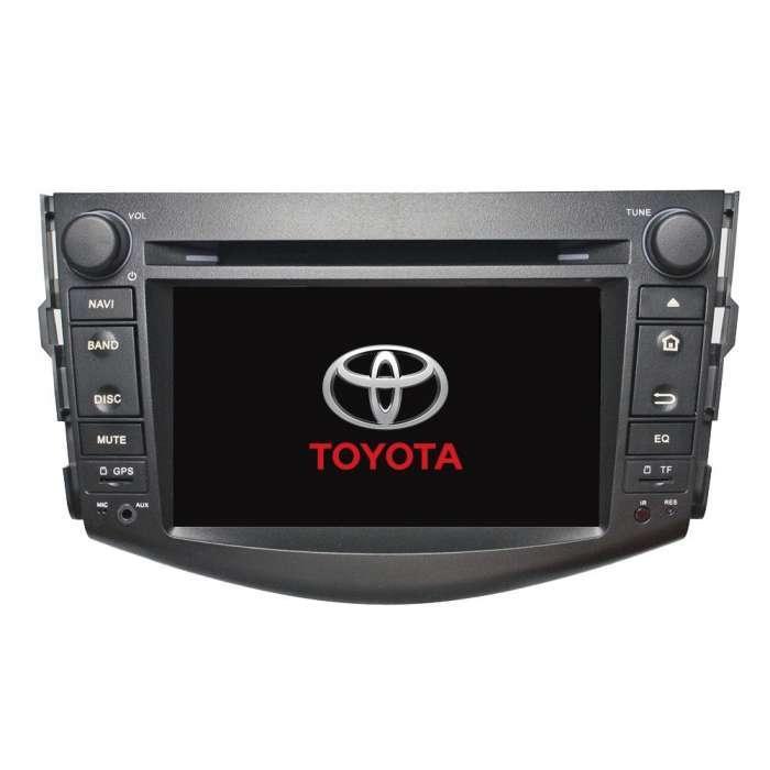 "Radio DVD Navegador GPS Android para Toyota RAV4 (8"")"