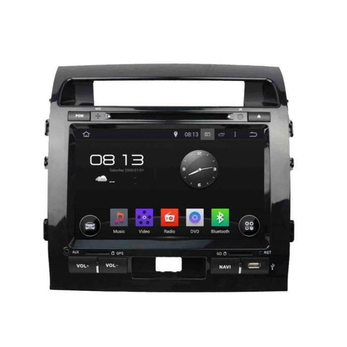 "Radio DVD Navegador GPS Android para Toyota Land Cruiser 200 (9"")"