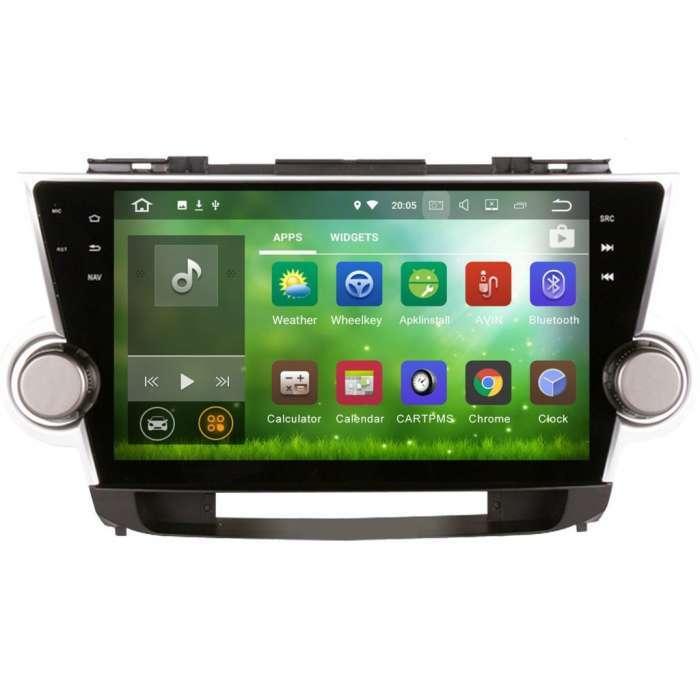 "Radio Navegador GPS Android para Toyota Highlander (10,1"")"