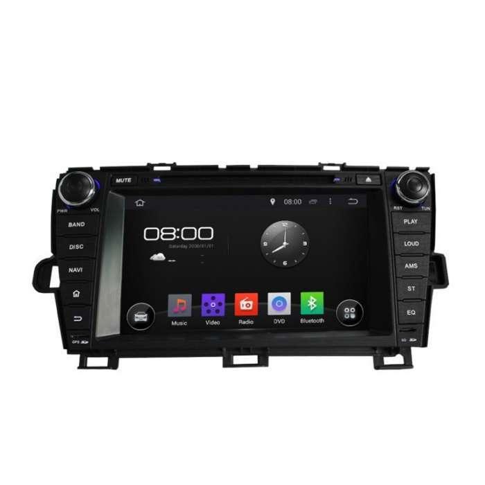 """Radio DVD Navegador GPS Android para Toyota Prius (8"""")"""