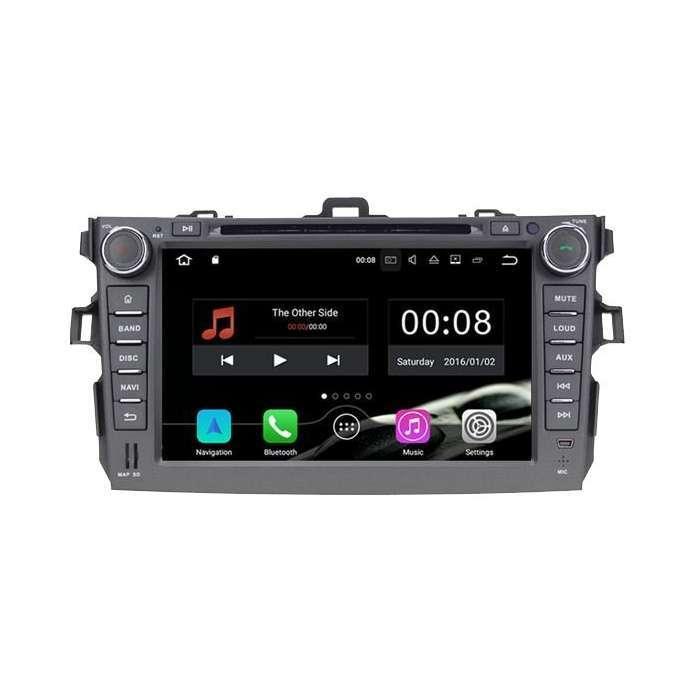 """Radio DVD Navegador GPS Android para Toyota Corolla (7"""")"""