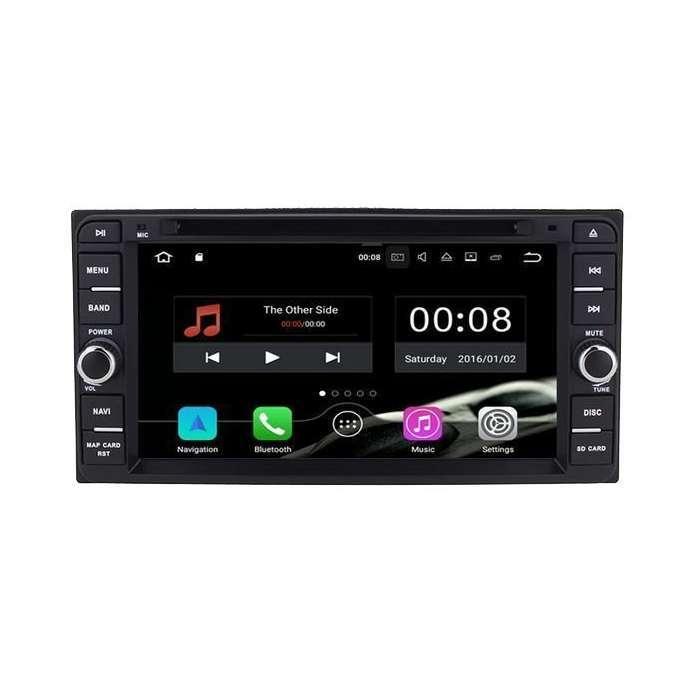 "Radio DVD Navegador GPS Android para Toyota Universal (6,5"")"
