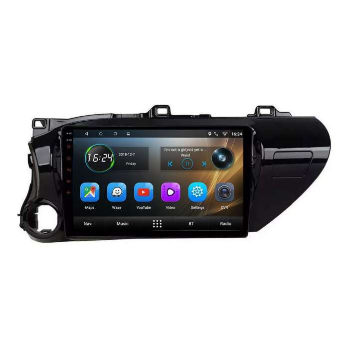 "Radio DVD Navegador GPS Android para Toyota Hilux (10,2"")"