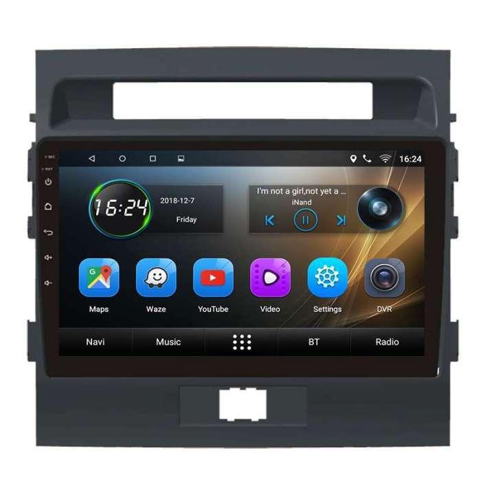 "Radio Navegador GPS Android para Toyota Land Cruiser 200 (10,2"")"
