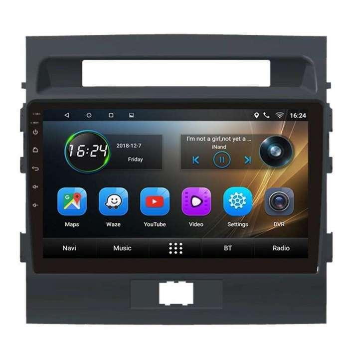 "Radio DVD Navegador GPS Android para Toyota Land Cruiser (10,2"")"