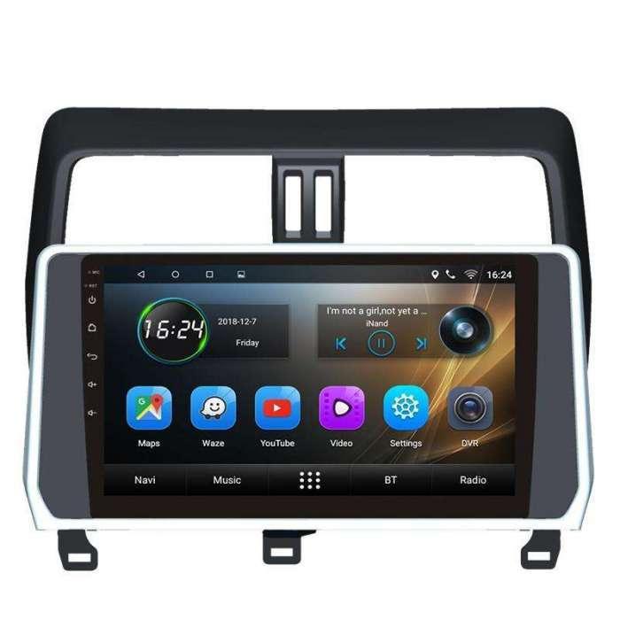 "Radio DVD Navegador GPS Android para Toyota Prado (10,2"")"