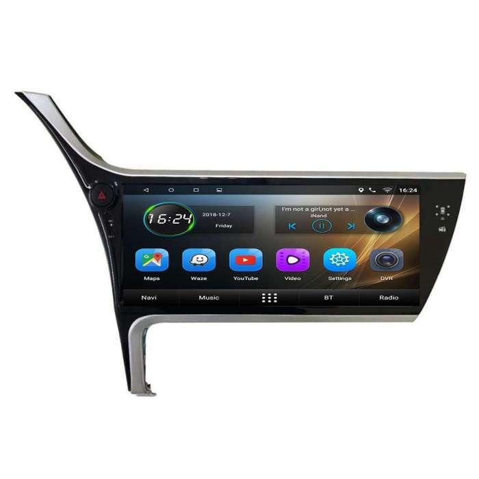 """Radio Navegador GPS Android para Toyota Corolla (12,3"""")"""