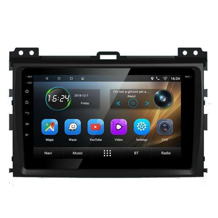 "Radio Navegador GPS Android para Toyota Prado (8"")"