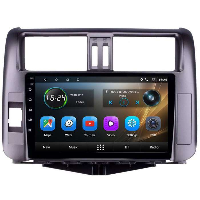 "Radio Navegador GPS Android para Toyota Prado (9"")"