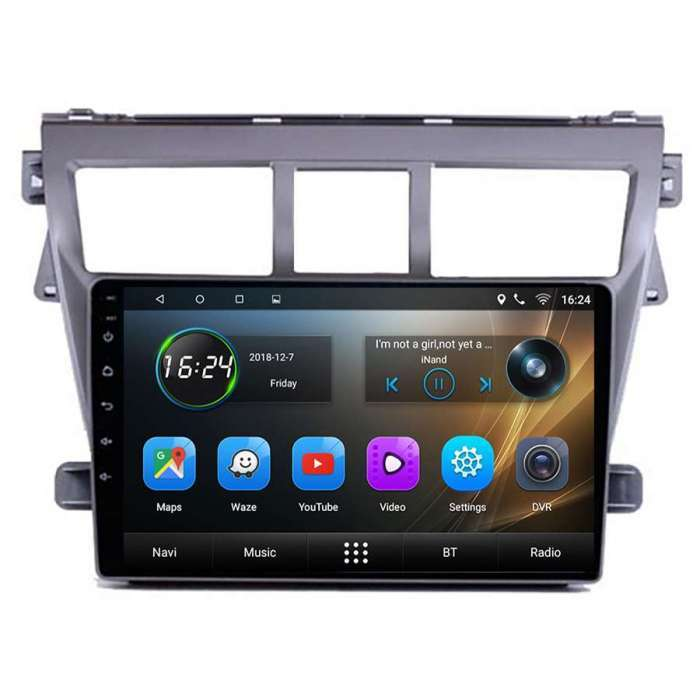 "Radio Navegador GPS Android para Toyota Vios (9"")"