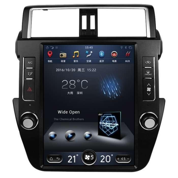 "Radio Navegador Android Tipo Tesla Toyota Land Cruiser Prado 150 (12,1"")"