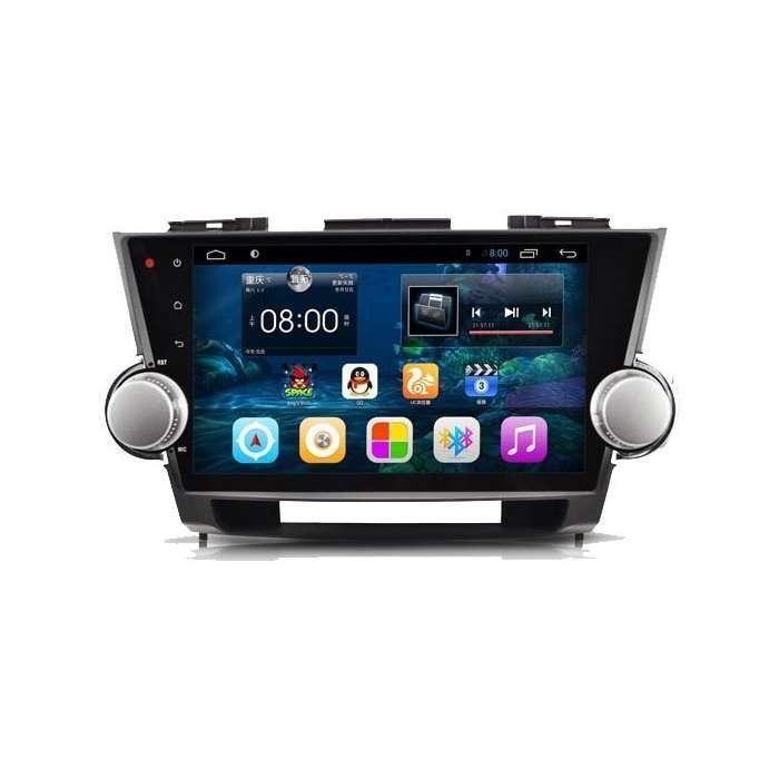 "Radio Navegador GPS Android para Toyota HighLander (10,2"")"