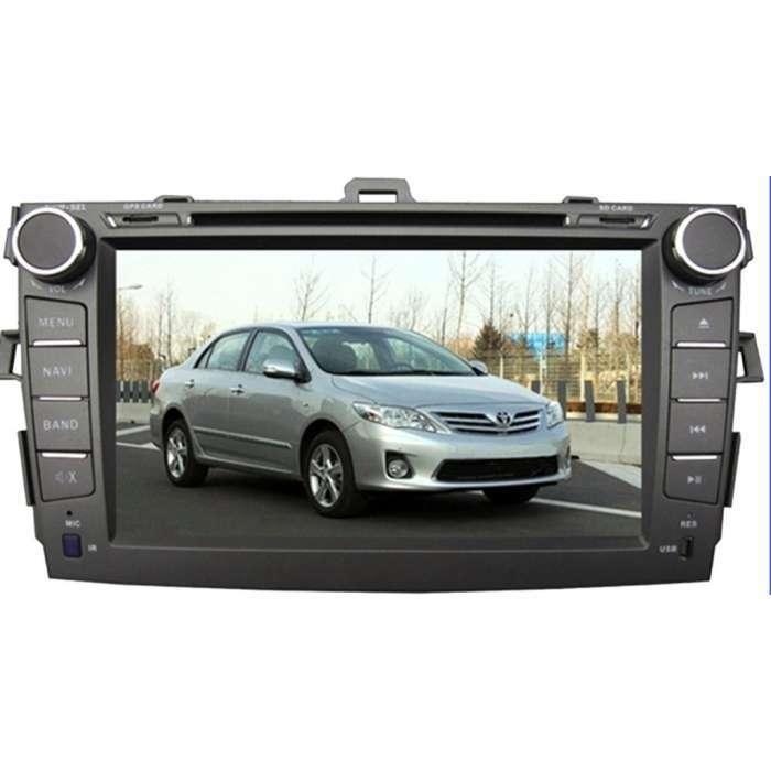 """Radio DVD Navegador GPS Android para Toyota Corolla (8"""")"""