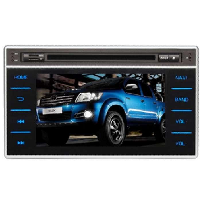 "Radio DVD Navegador GPS Android para Toyota Hilux (7"")"
