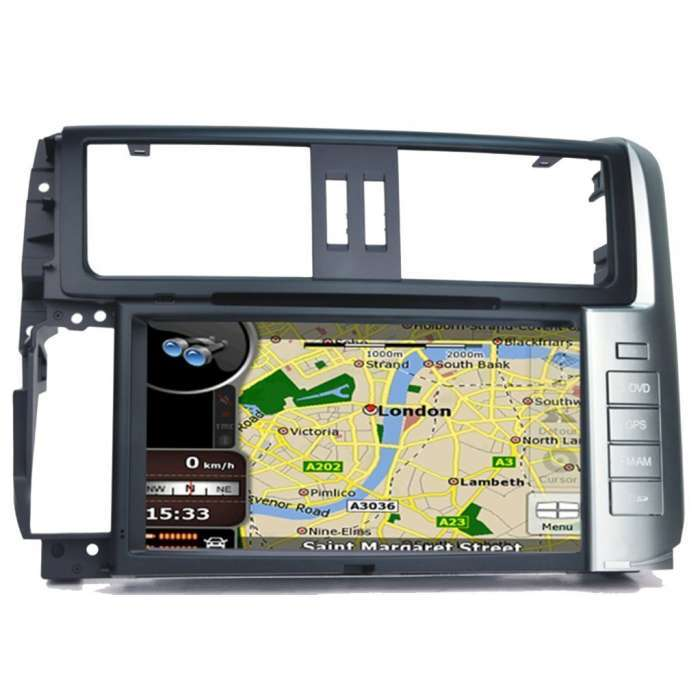 "Radio DVD Navegador GPS Android para Toyota Land Cruiser KDJ 150 (8"")"