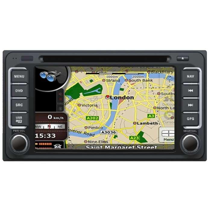 "Radio DVD Navegador GPS Android para Toyota (7"")"