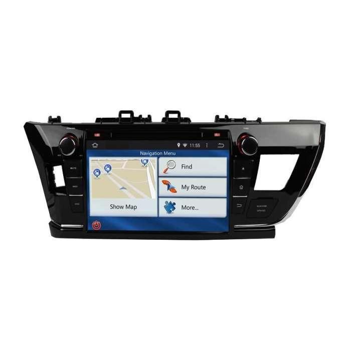 """Radio DVD Navegador GPS Android para Toyota Corolla (9"""")"""