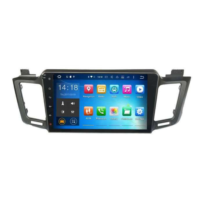 "Radio DVD Navegador GPS Android para Toyota RAV4 (10,1"")"
