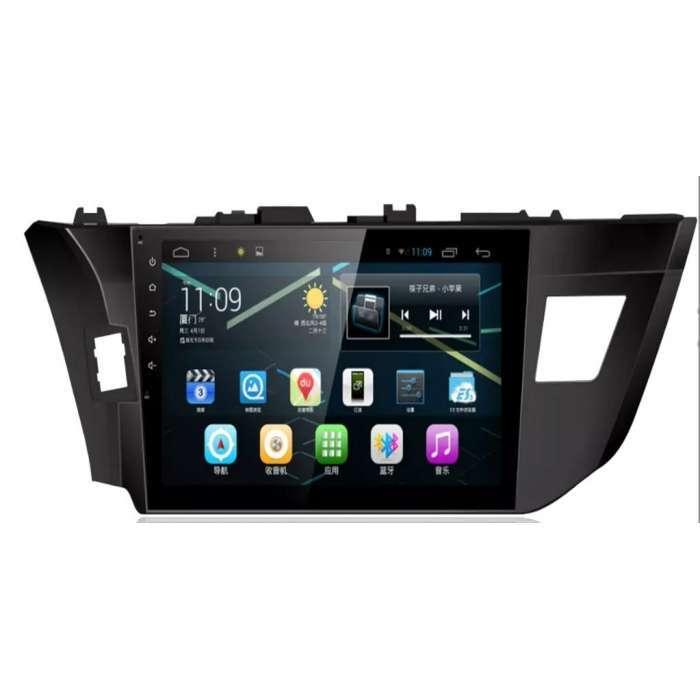 """Radio Navegador GPS Android para Toyota Corolla (10,2"""")"""