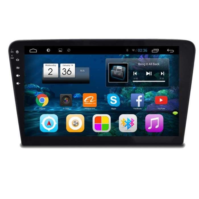 """Radio Monitor Navegador HD Android Puro para Volkswagen Bora (10,2"""")"""