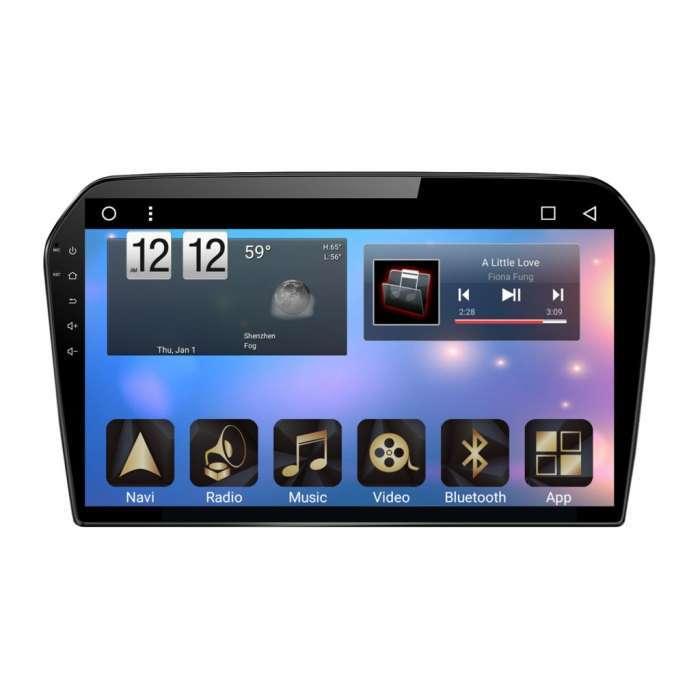"Radio Monitor Navegador HD Android Puro para Volkswagen Jetta (10,2"")"