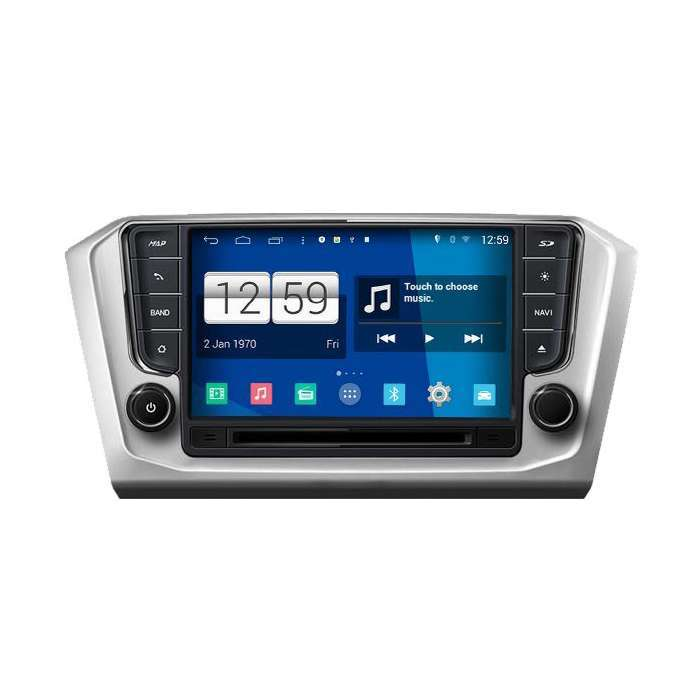"Radio DVD Navegador Modelo S200 Android para Volkswagen Passat (8"")"