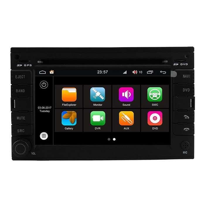 """Radio DVD Navegador Modelo S200 Android para Volkswagen Golf (6,8"""")"""