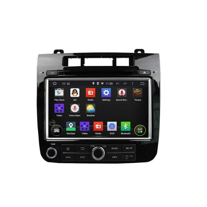 "Radio DVD Navegador GPS Android para Volkswagen Touareg (8"")"
