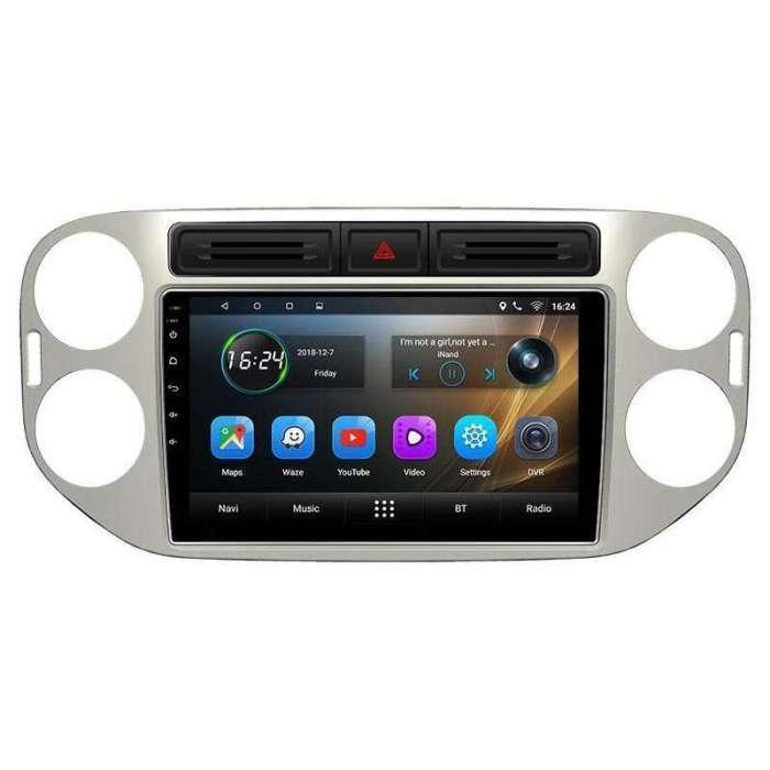 "Radio Navegador GPS Android para Volkswagen Tiguan (9"")"