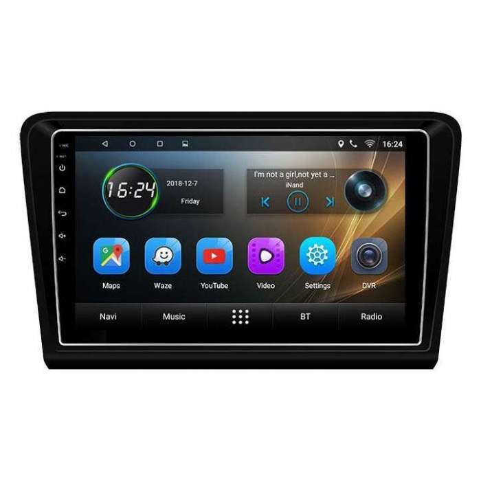 """Radio Navegador GPS Android para Volkswagen Bora (9"""")"""