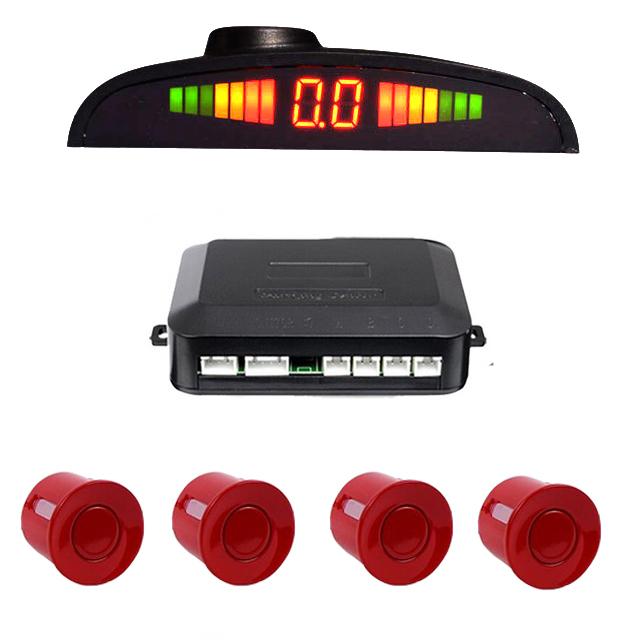 Sensores de Aparcamiento y pantalla LCD. (Montaje incluido)
