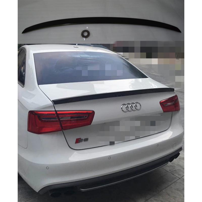 Alerón Audi A6 C7 2011-2018 (Negro Brillo)