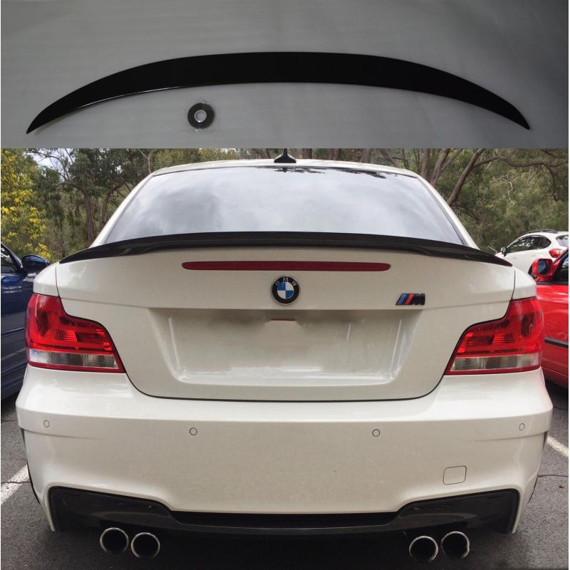 Alerón BMW Serie 1 E82 Coupé 2006-2013 (Negro Brillo)