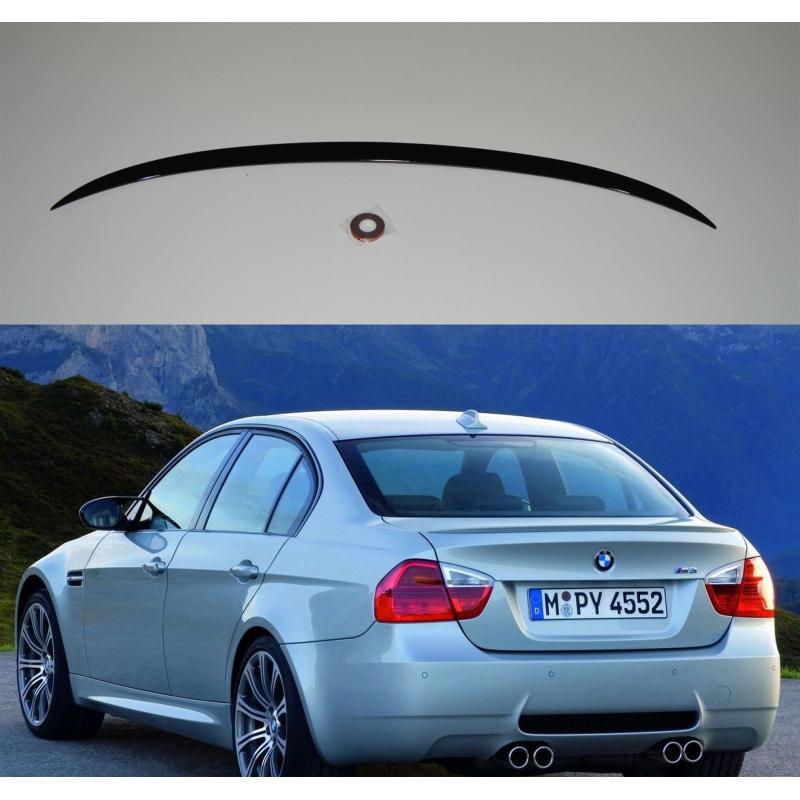 Alerón BMW Serie 3 E90 M3 2005-2012 (Negro Brillo)