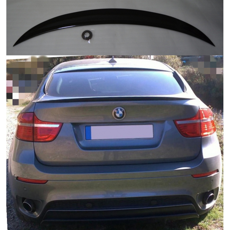 Alerón BMW X6 E71 2014-2020 (Negro Brillo)