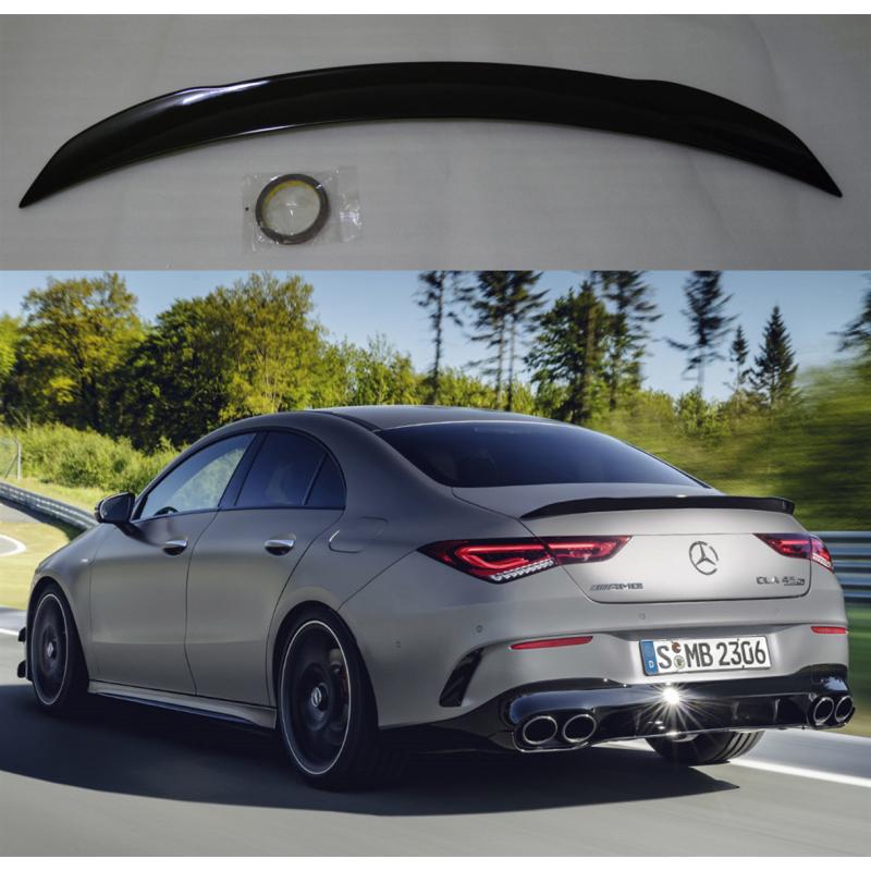 Alerón Mercedes Benz clase CLA C118 2019+ (Negro Brillo)