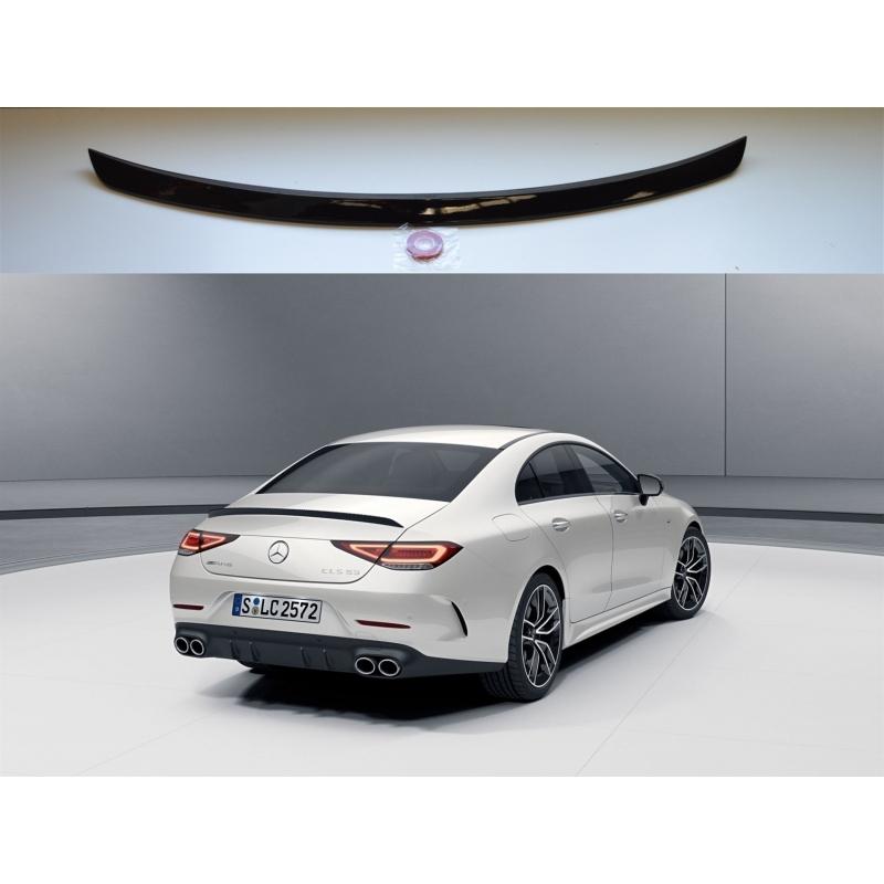 Alerón Mercedes Benz CLS Coupé C257 2018- (Negro Brillo)