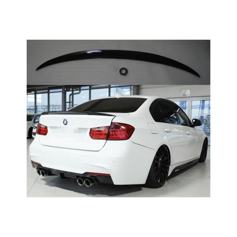 Alerón BMW Serie 3 F30 Sedan Performance (Negro Brillo)